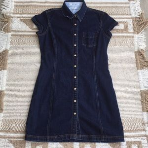 20 Year VINTAGE Dark Denim Tommy Hilfiger Dress